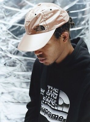 3ec2ef5a SUPREME X THE North Face White Mountain 6-Panel Hat TNF CONFIRMED ...