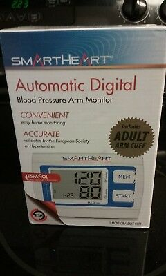 Smart Heart Automatic Digital Blood Pressure Arm Monitor (Adult Cuff)