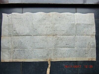1610. (JAMES 1st.) VELLUM INDENTURE of FEOFFMENT.   YOUNG to WOODIER. HOO. KENT.