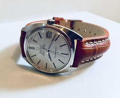 Omega vintage 1970s Constellation CAL 1011 Automatic Mens gents watch + Box