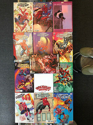 Amazing Spider-Man #800 Regular Cover + Blank Con + 11 Variant Covers Lot of 13