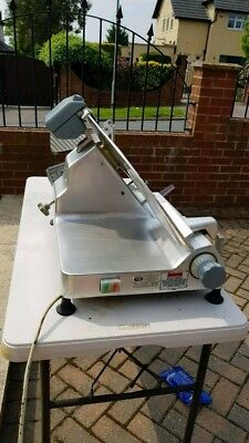 Abm Commercial Cooked Meat Slicer In Working Condition -