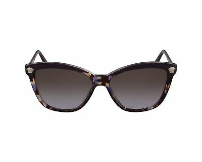 4ae5fe9596fc AUTHENTIC VERSACE SUNGLASSES VE4313 5179 68 Purple Gold Frames Gray Lens  57MM -  109.99
