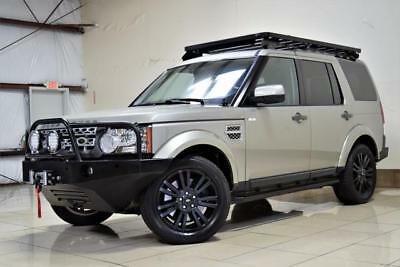 2010 Land Rover LR4 HSE OFFROADING LIFTED 4X4 FREE  SHIPPING CUSTOM LAND ROVER LR4 HSE SAFARI FULLY OFFROADING ONE OF A KIND