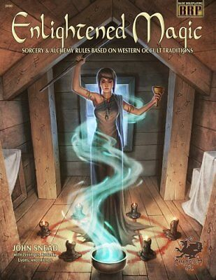 ENLIGHTENED MAGIC: SORCERY AND ALCHEMY RULES BASED ON WESTERN By John Snead NEW