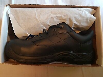 Brand new in box mens black safety shoes size 10