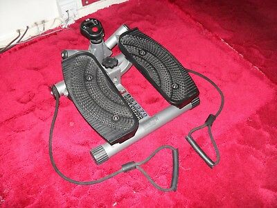 Used - Aerobic Exercise Mini Stepper Machine Workout Fitness Air Stair Climber