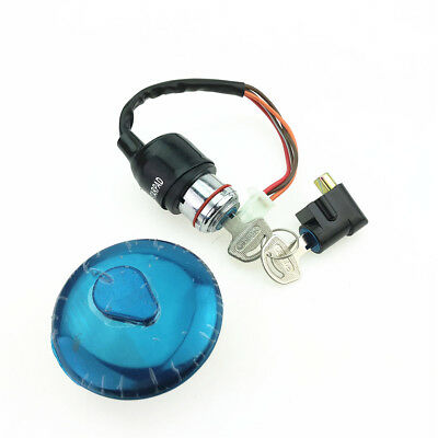For GN125 Motorcycle Full Car Lock HJ125-8 Motorcycle  Electric Door Lock