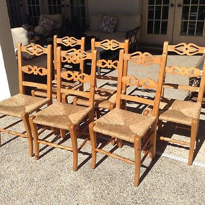 French Country Chairs Set Of 6 selling at a fraction of cost!!!
