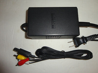 Official Nintendo Gamecube Power Supply Cord AC Adapter DOL-002 Original Cable