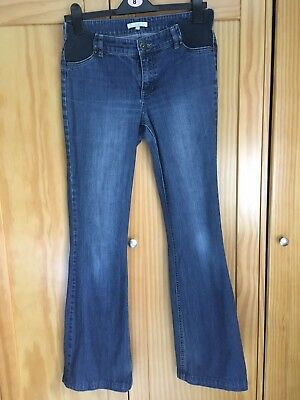mamas and papas maternity jeans size 8L