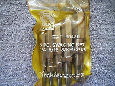Ritchie Swaging Set 1/4-5/16-3/8-1/2-5/8 Model 60476