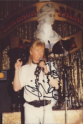 Brian Connolly Sänger The Sweet Original Autogramm Autograph Signed Foto (O-2641