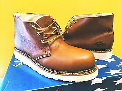 245524b8870 THOROGOOD WORK BOOTS Steel Toe Safety Shoes 804-4513 Wedge Bottom Iron  Worker