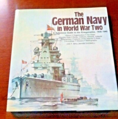 The German NAVY in World War II; Refernce Guide excellent - Christmas Gift