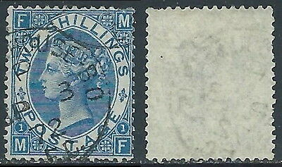 1867-80 GREAT BRITAIN USED SG 119 2s PLATE 1 (MF)