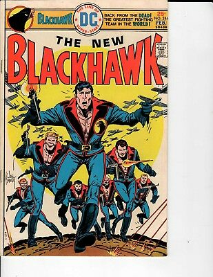 DC Comics The New Blackhawk #244 1st Duchess Ramona Fatale Appearance NM- 9.0