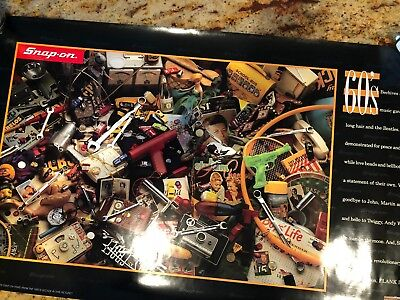 Snap-On Tools Anniversary Poster:  The Sixties