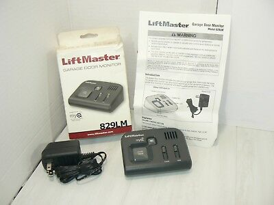 Liftmaster 829LM Garage Door Monitor for MyQ Technology Openers NEW OPEN BOX