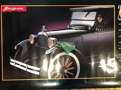 Snap-On Tools Anniversary Poster:  The Twenties