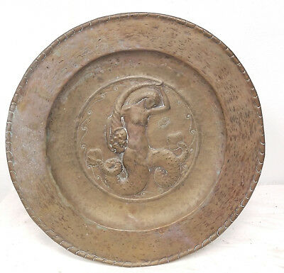 Antique Vintage 20th Century Art Nouveau Decorative Charger Signed Dutch Austria