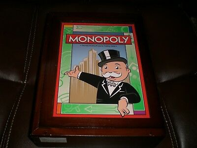 Monopoly Vintage Game Collection Parker Brothers Bookshelf Edition NEW Open Box