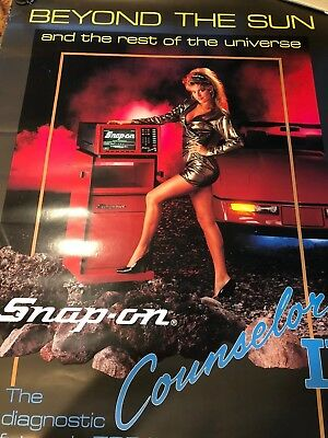 Vintage Snap-On Tool Poster:  Counselor II