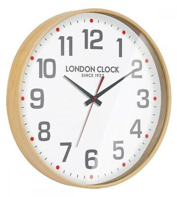 Large London clock retro wooden wall clock