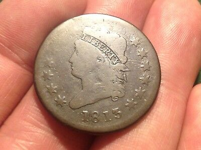 1813 Classic Head Large Cent   LOW MINTAGE KEY DATE & DECENT!!!   L@@K!!