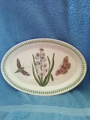 Portmeirion Oval Plate Hyacinthus Orientals. Free UK postage