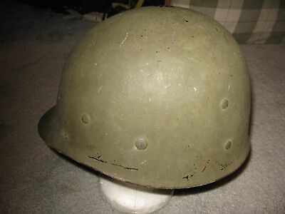 US WWII WW2 M1 helmet liner MSA w/sweatband and nape strap excellent condition