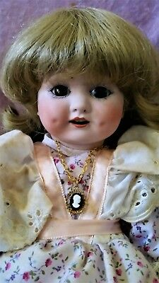 "Gorgeous Vintage Armand Marseille ""985"" 15"" German "" Bisque Doll GC"