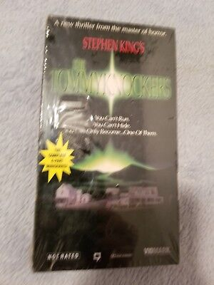 Stephen King's The Tommyknockers (1993) - VHS Tape -Horror / Sci-Fi-Jimmy Smits
