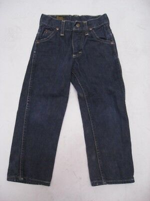 Vintage 1960s LEE RIDERS Sanforized Indigo Denim Jeans KIDS SIZE