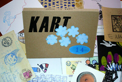 KART 14  (Mail Art, FLUXUS ,Visual Poetry,DADA, Zine in a box) rare early issue