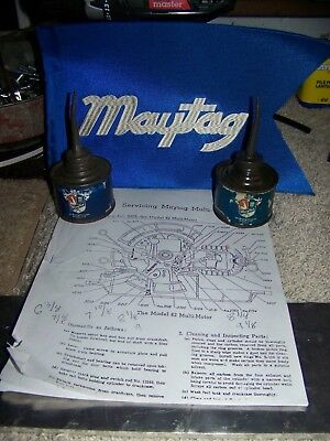 Maytag oil cans maintenance manual & misc