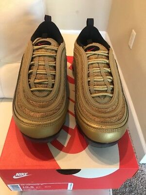 the best attitude 11391 323d1 100% AUTHENTIC NIKE Air Max 97 Vapormax Gold Metallic Size 10.5