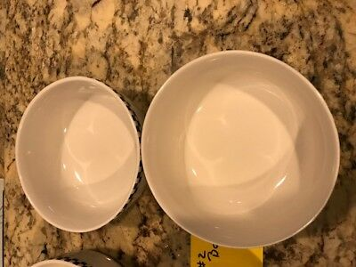 Vintage Set of 2 2002 Coca-Cola Checkered Gibson Cereal Soup Bowls - lot 2