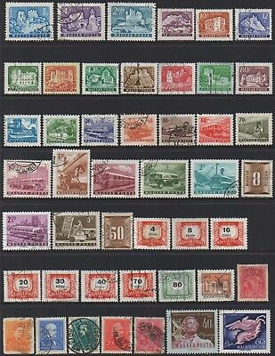 Hungary Collection Of (156) Stamps  Heaps  Amazing Very Fine Used.