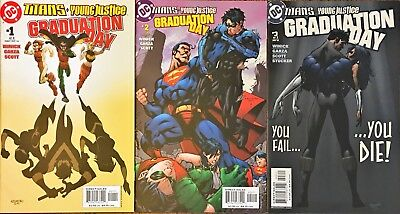 Titans/Young Justice: Graduation Day #1-3 Complete Set (2003, DC) 1st App Indigo