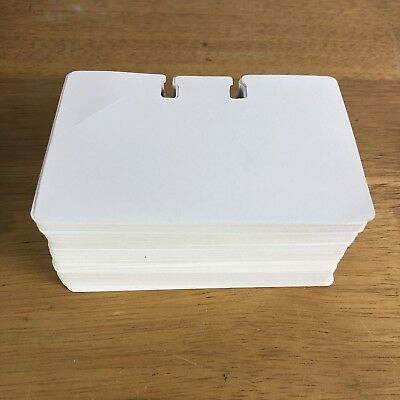 Rolodex Replacement Cards Index Card White Lot 250 Address Business
