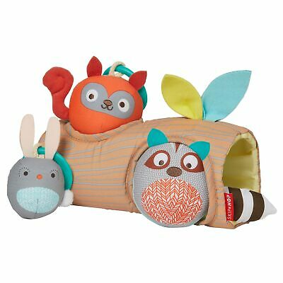 Skip Hop Baby / Toddler / Child Camping Cubs Peek A Boo Ball Trio With Rattles