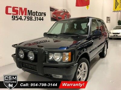 2000 Land Rover Range Rover 4.6 HSE Wagon 4 Dr. 4x4 Automatic