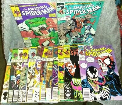 The Amazing Spider-Man Comic Book Lot 277 310 313 317 319 344 1st Cletus Cardiac