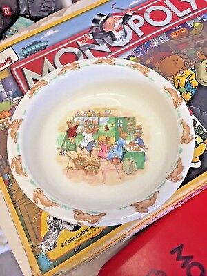 Royal Doulton BUNNIKINS Nursery Baby plate no chips or cracks Collectable