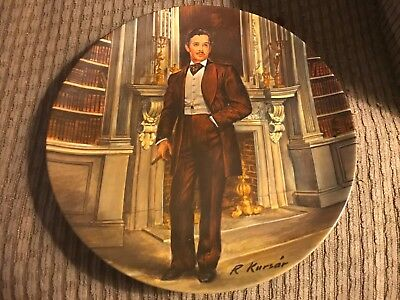 Knowles 'Gone with the Wind' Rhett plate