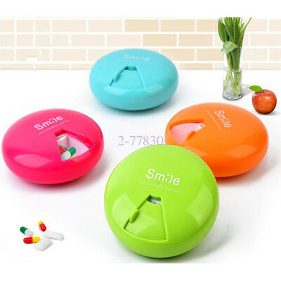 7 Day Weekly Travel Pill Medicine Box Dispenser Capsule Holder Organiser Case