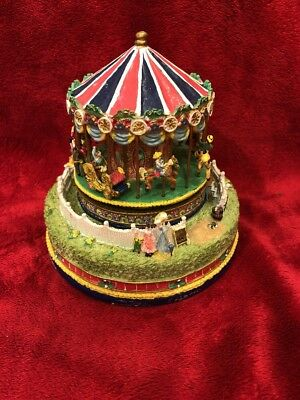 Liberty Falls Collection ~ Carousel Comes To Town ~ AH444 ~ Working