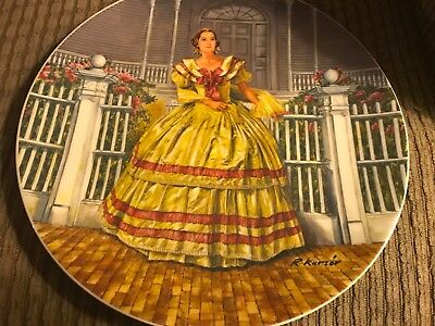 Knowles 'Gone with the Wind' Melanie plate