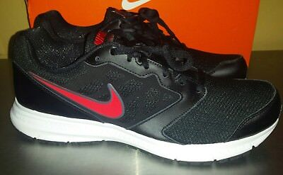 detailed look d677e 71be0 Nike Downshifter 6 Running Shoes Mens Sz 9   NEW 684652 031 Black Red  Sneaker